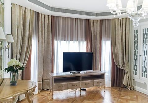 Шторы для дома в классическом стиле 3
